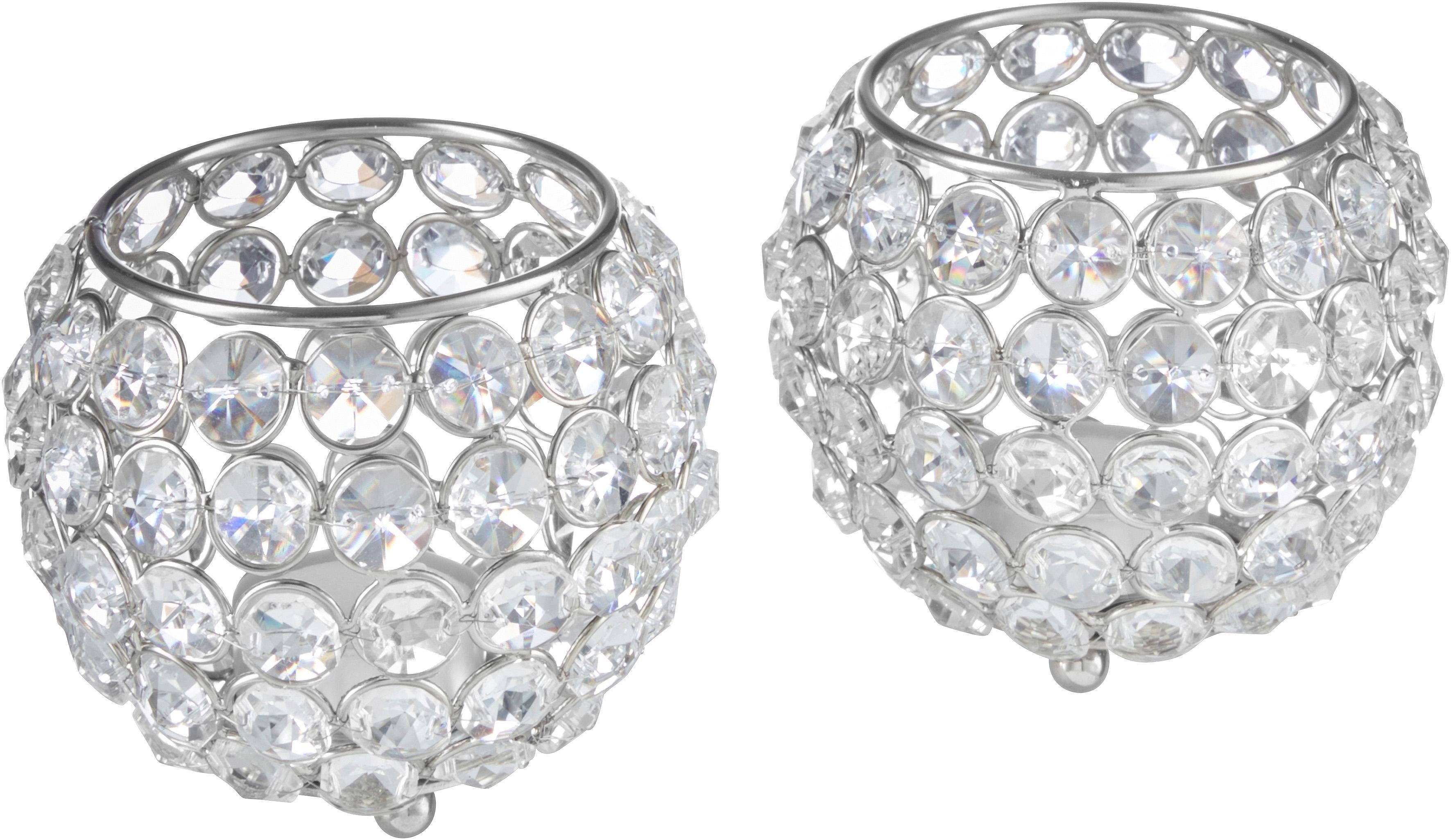 Home Affaire Waxinelichthouder Kristal set van 2 bij OTTO online kopen