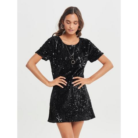 ONLY Korte mouwen jurk zwart