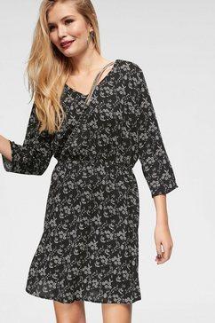 jacqueline de yong gedessineerde jurk »hilda« zwart