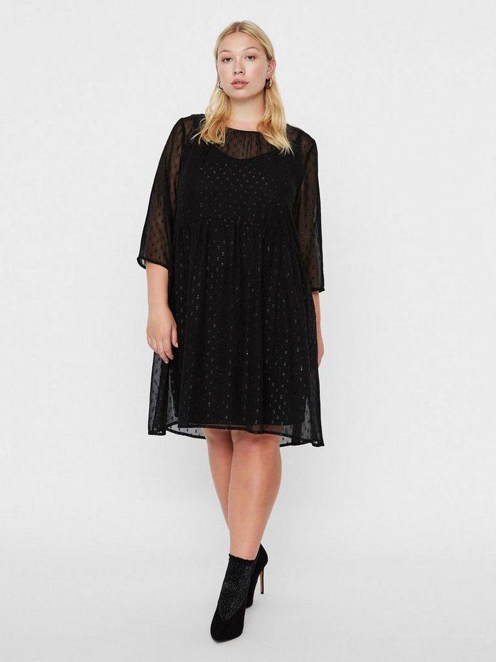 Junarose Mesh jurk zwart