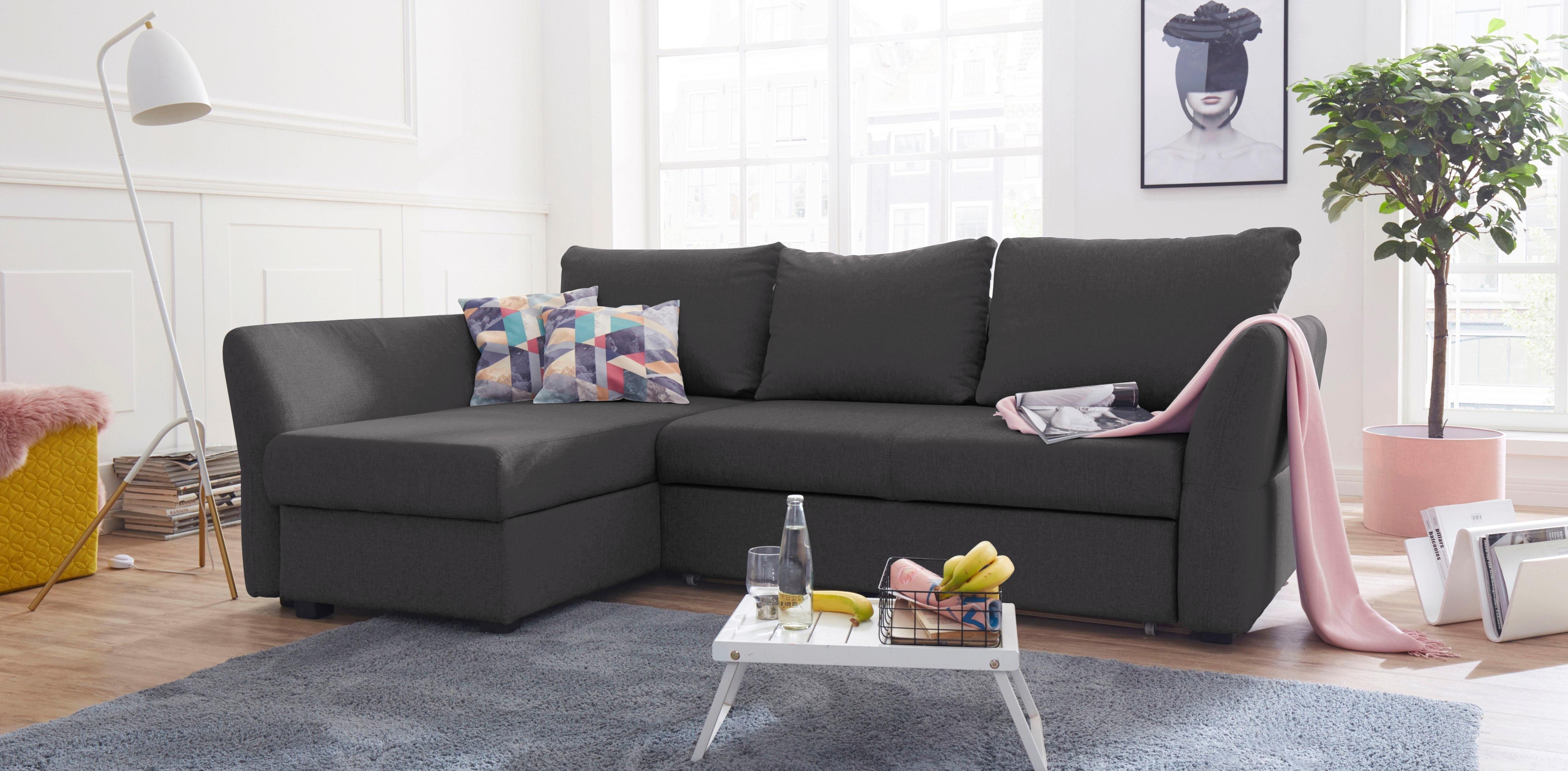 ATLANTIC home collection hoekbank inclusief bedfunctie en bedkist veilig op otto.nl kopen