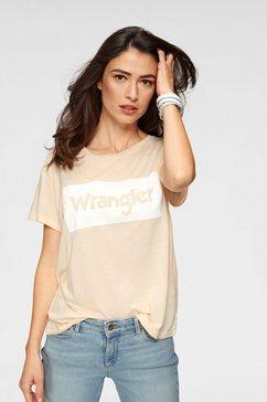 wrangler t-shirt roze