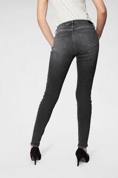 wrangler skinny jeans zwart