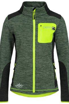 deproc active tricot-fleecejack »whitecourt waffelfleece women« groen