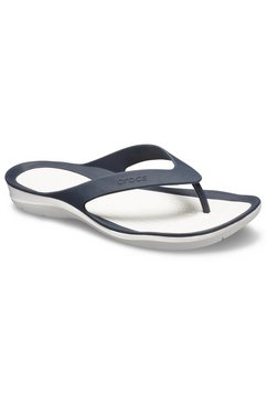 crocs teenslippers »swiftware flip w« blauw