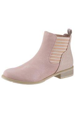 marco tozzi chelsea-boots roze