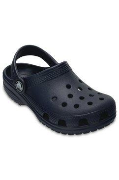 crocs slippers »classic clog k« blauw