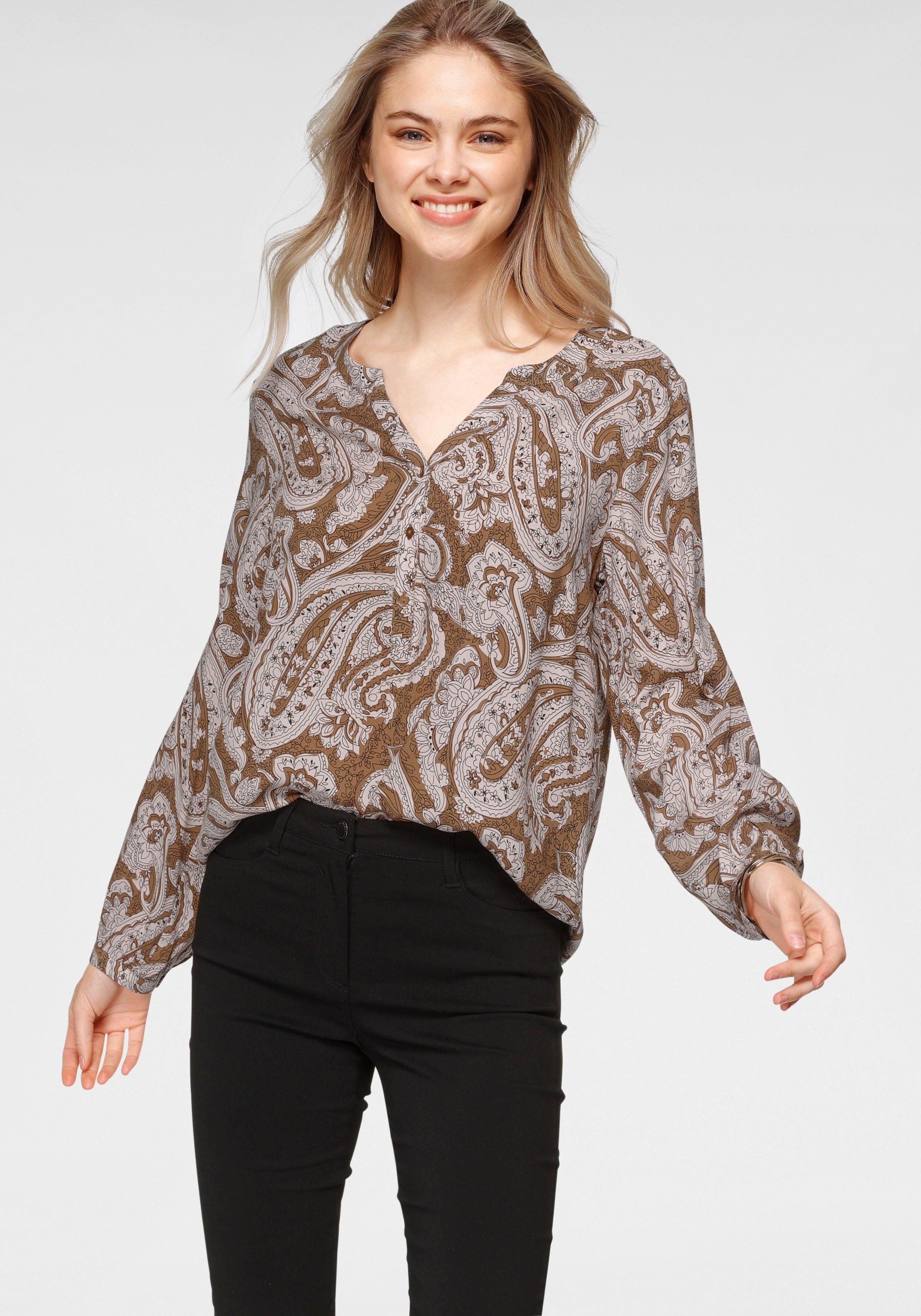 soyaconcept gedessineerde blouse SC-RAKEL2 met paisleymotief in de webshop van OTTO kopen
