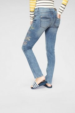 coccara regular fit jeans »bella« blauw