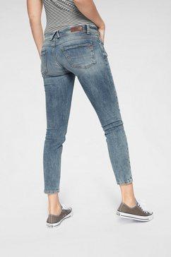 ltb skinny fit jeans »senta« blauw