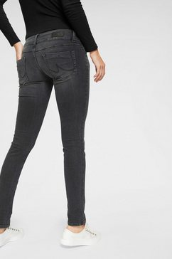 ltb slim fit jeans »molly« grijs