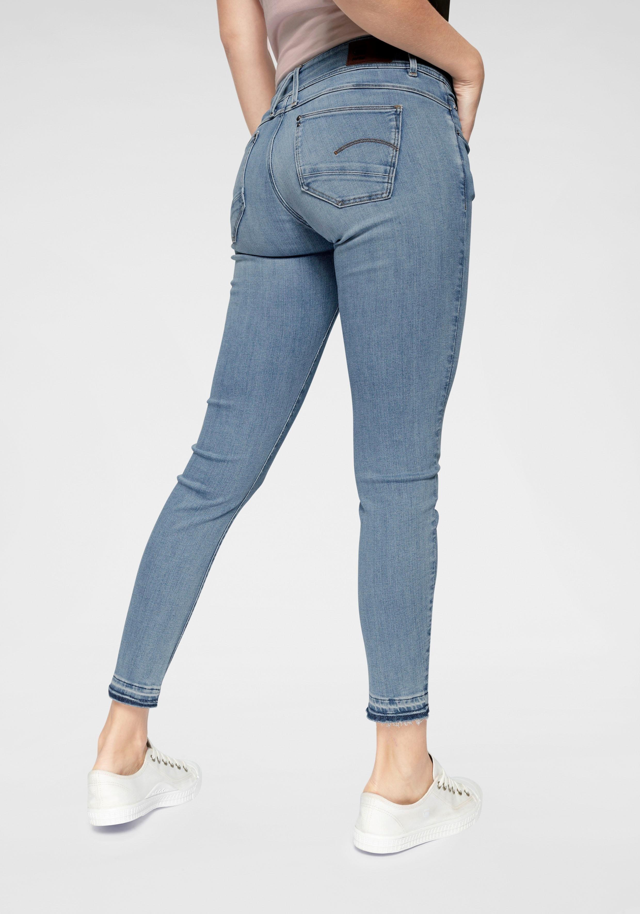 G-star Raw skinny fit jeans »Lynn Mid Skinny rp Ankle Wmn« nu online bestellen