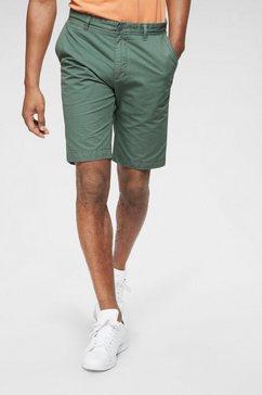 basefield chino-shorts groen