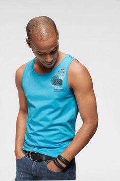 rhode island muscle-shirt blauw