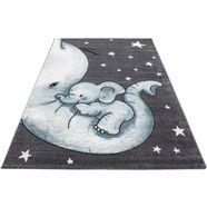 vloerkleed voor de kinderkamer »kids 560«, ayyildiz teppiche, rechthoekig, 12 mm hoog, mach. geweven blauw