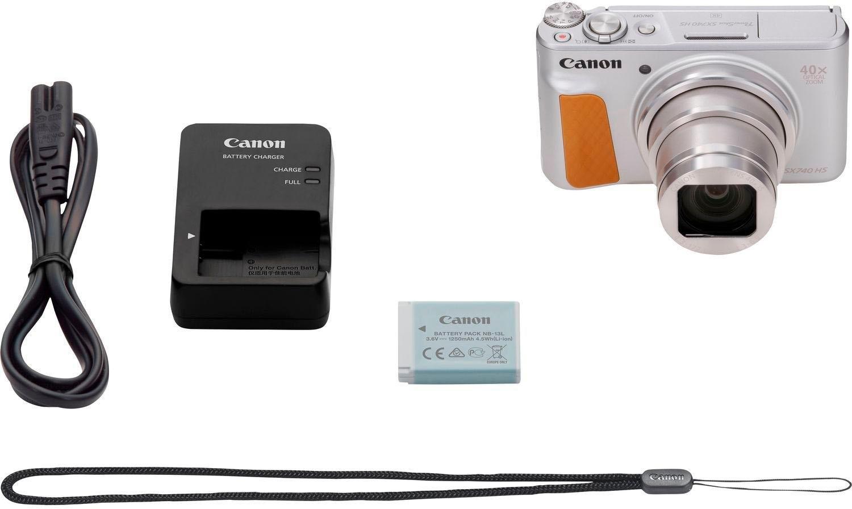 Canon »PowerShot SX740 HS« compactcamera (20,3 MP, 40x optische zoom, Bluetooth WLAN (wifi)) in de webshop van OTTO kopen