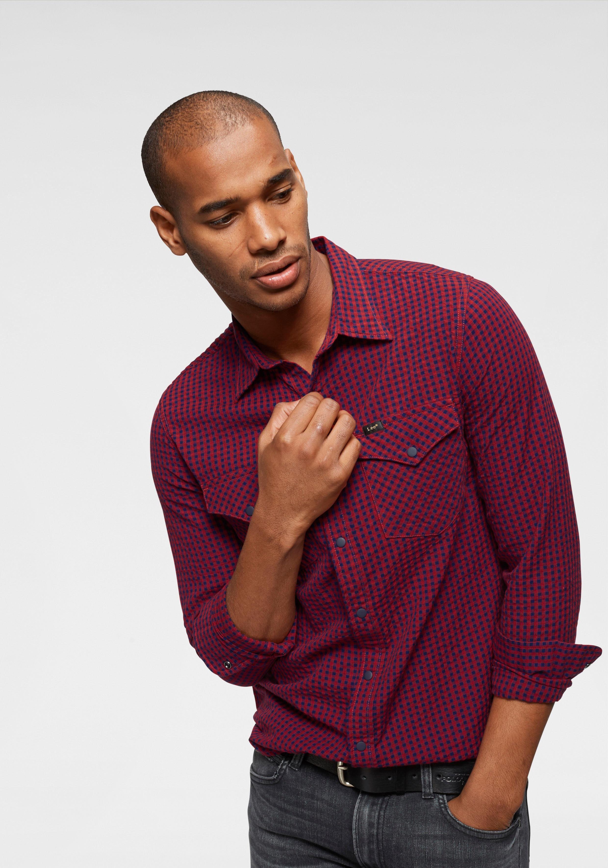 Lee® Overhemd Winkel In De Online kXuPZiO