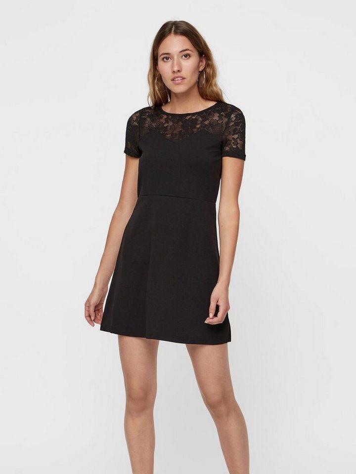 Vero Moda kanten jurk zwart
