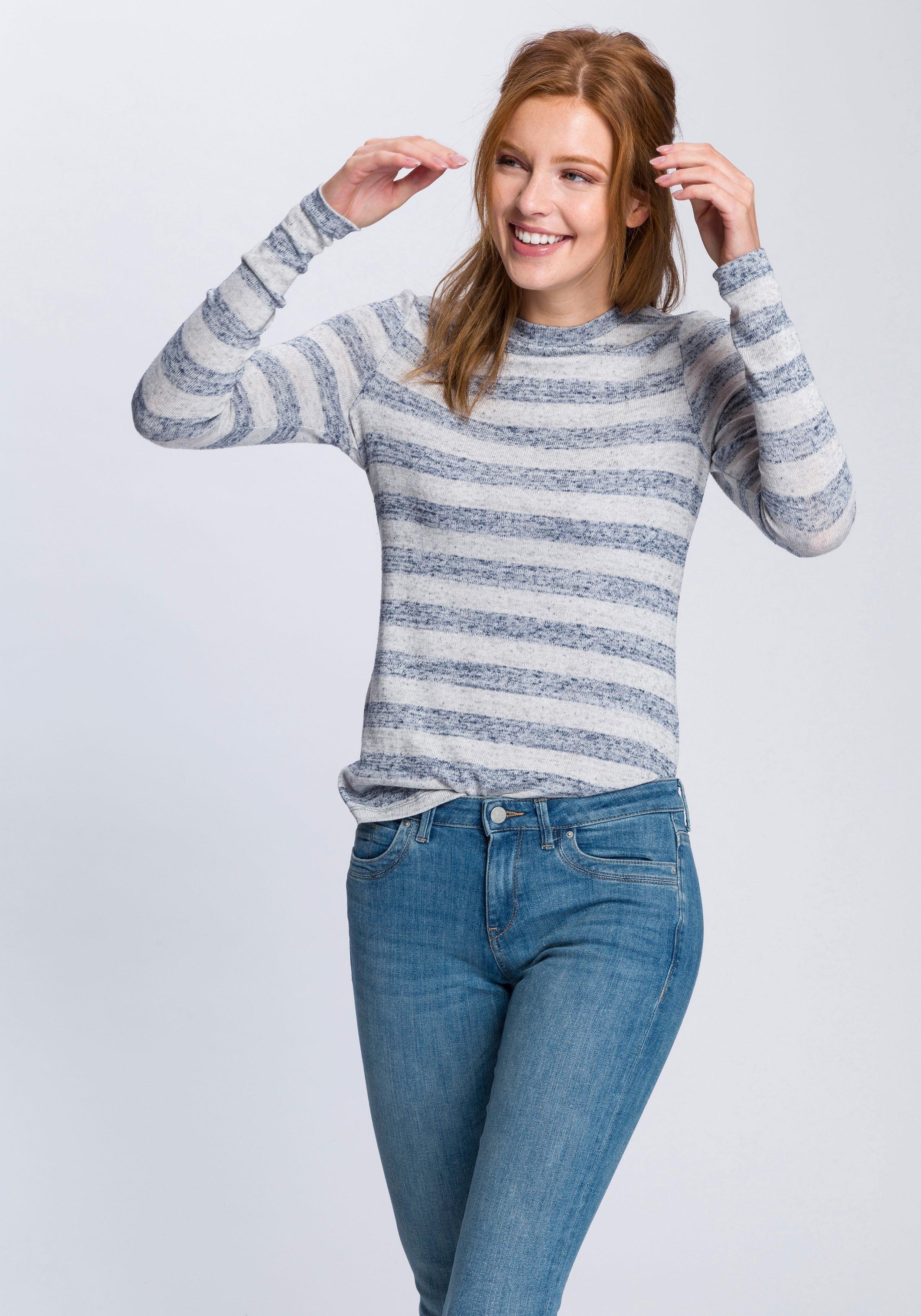 Mouwen Met Shirt Makkelijk Lange Gekocht Esprit iTuwOPkXlZ