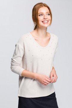 esprit collection shirt met lange mouwen beige