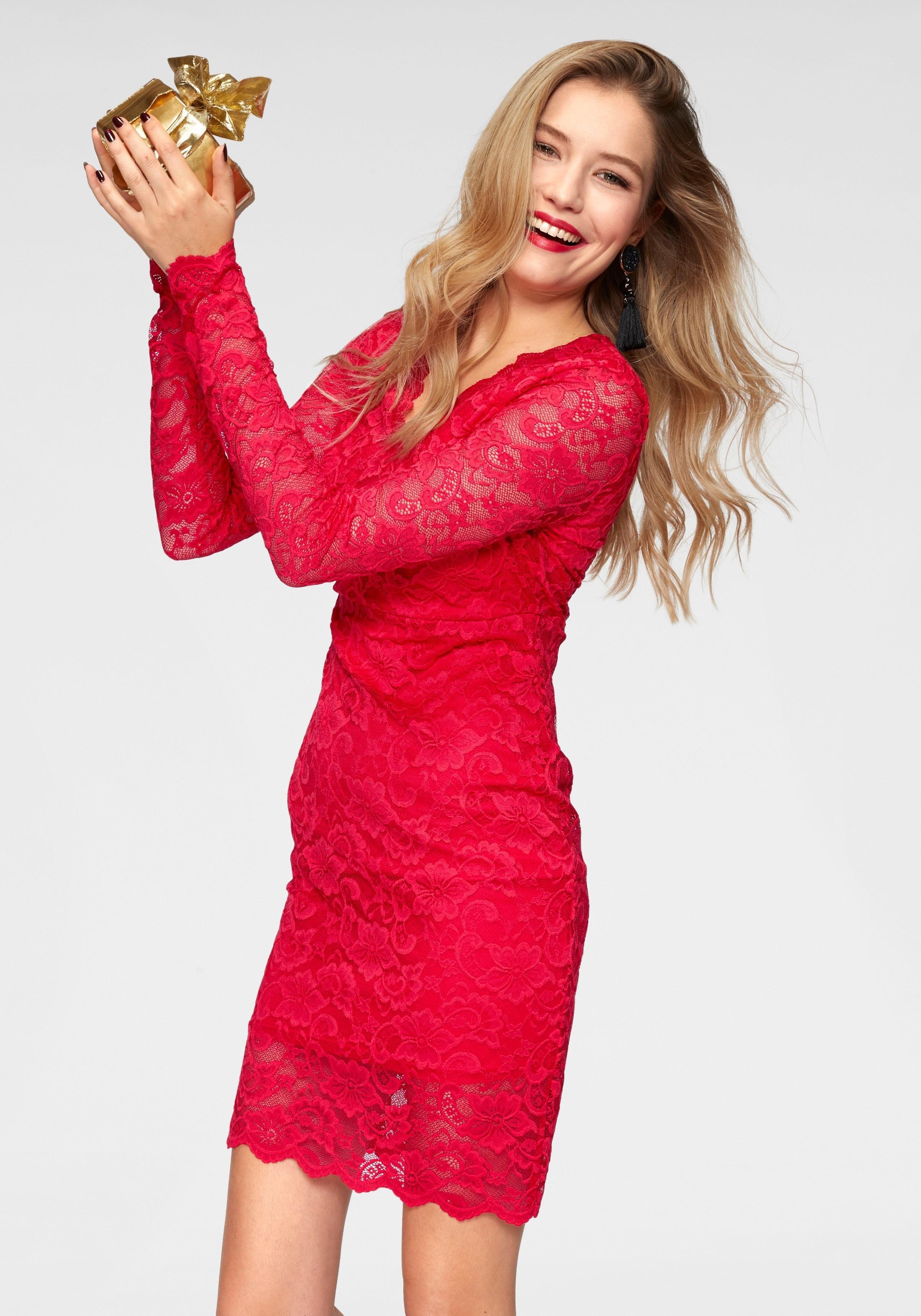 VERO MODA kanten jurk »LUCIA« nu online bestellen