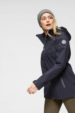 g.i.g.a. dx by killtec softshell-parka »lena« blauw