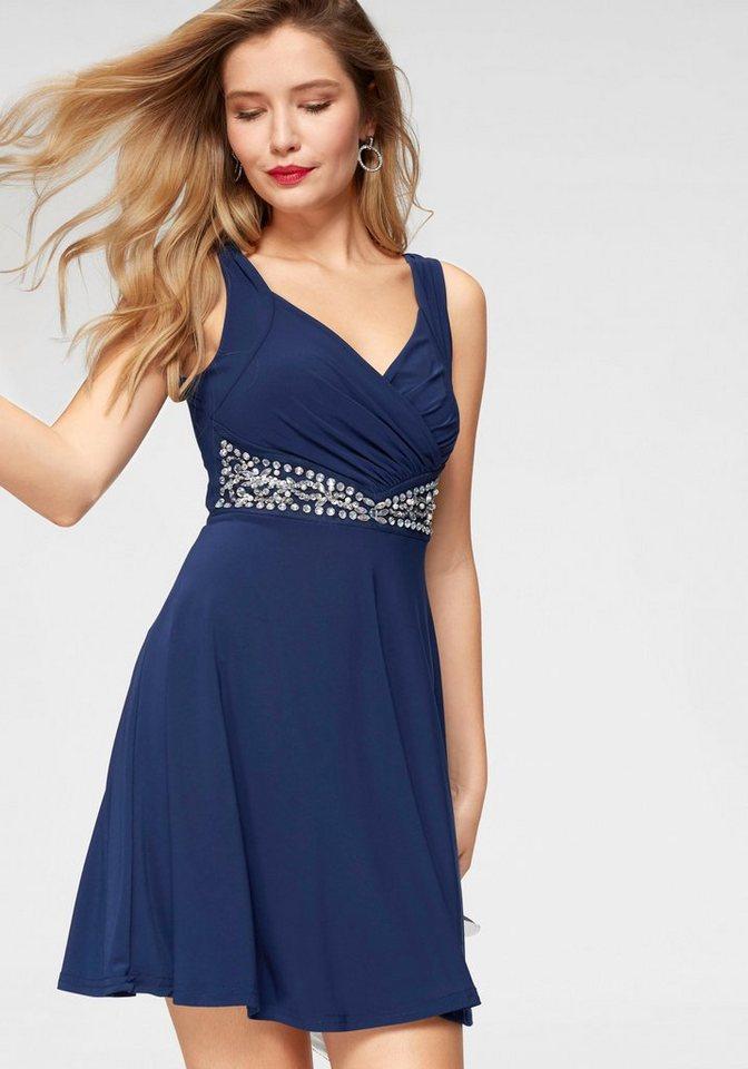 Melrose party-jurk blauw