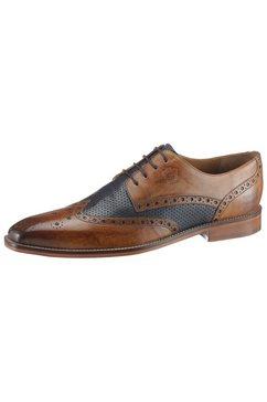 melvin  hamilton schoenen met budapest perforatie »martin 15« bruin