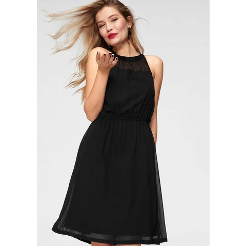 ONLY party-jurk CADIZ zwart