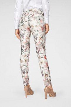 mac skinny fit jeans »dream skinny« wit