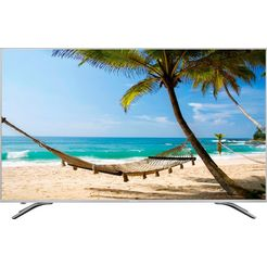 hisense h55a6500 led-tv (138 cm - (55 inch), 4k ultra hd, smart-tv zilver