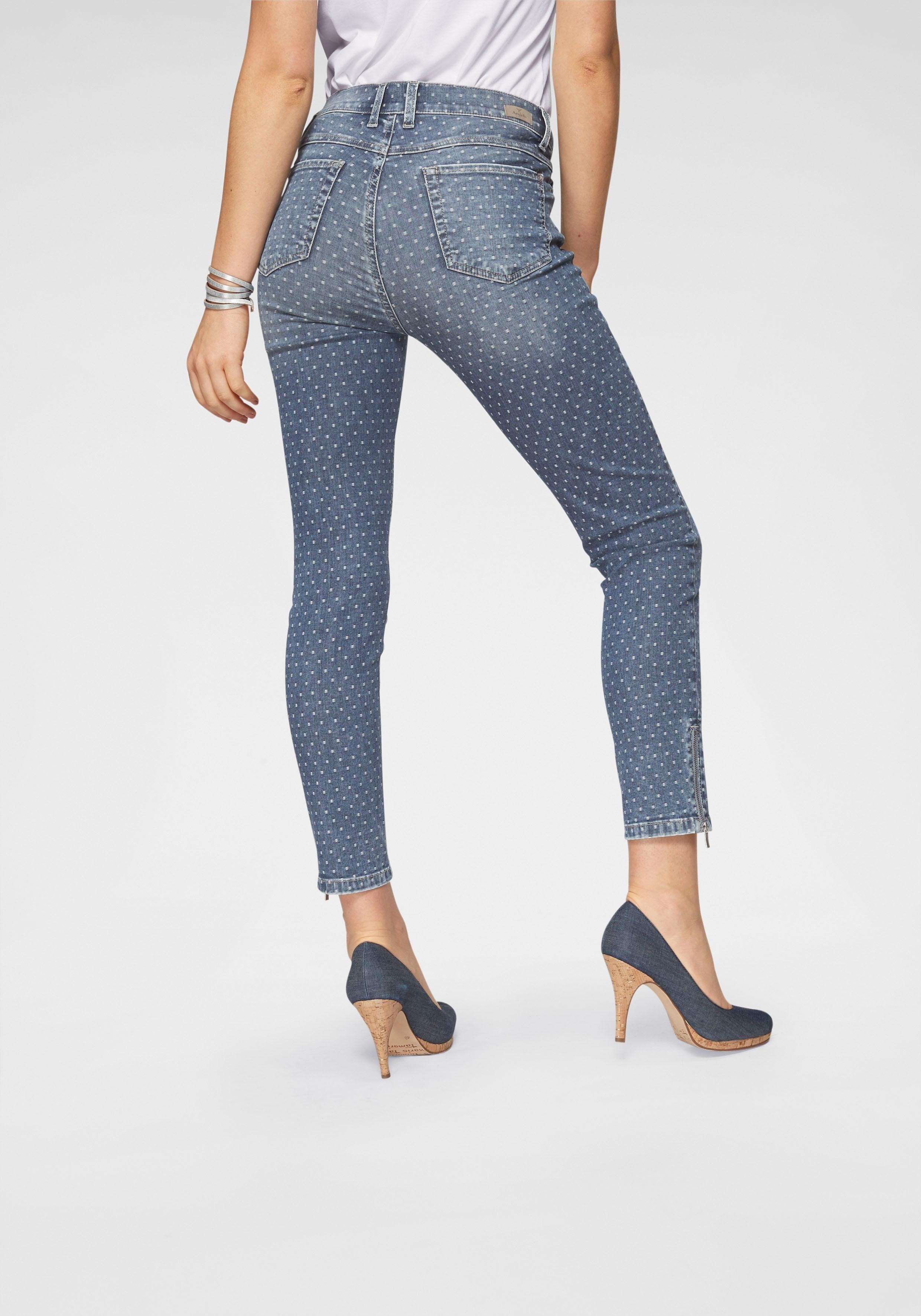 Angels ankle jeans »Ankle Skinny Zip« in de webshop van OTTO kopen