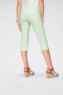 mac capri-jeans »capri clean« groen