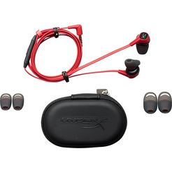 hyperx »cloud earbuds« gaming-headset rood