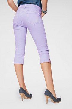 mac capri-jeans »capri clean« paars