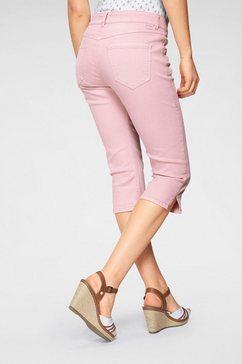 mac capri-jeans »capri clean« roze