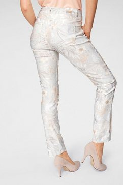 angels ankle jeans »cici gedessineerd« wit