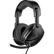 turtle beach »atlas three pc« gaming-headset (inklapbare microfoon) zwart