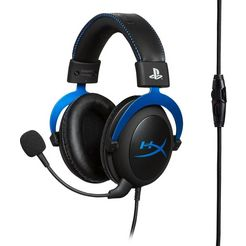 hyperx »cloud blue« gaming-headset (ruisonderdrukking) blauw
