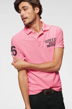 superdry poloshirt »classic superstate pique polo«