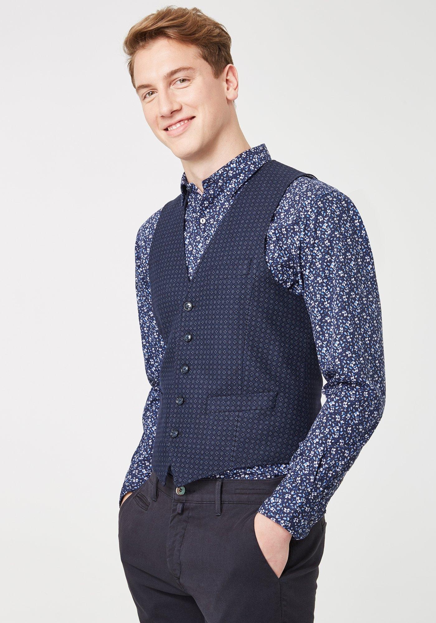 Pierre Cardin Vest met ornamentbedrukking - regular fit »Gabriel« bij OTTO online kopen