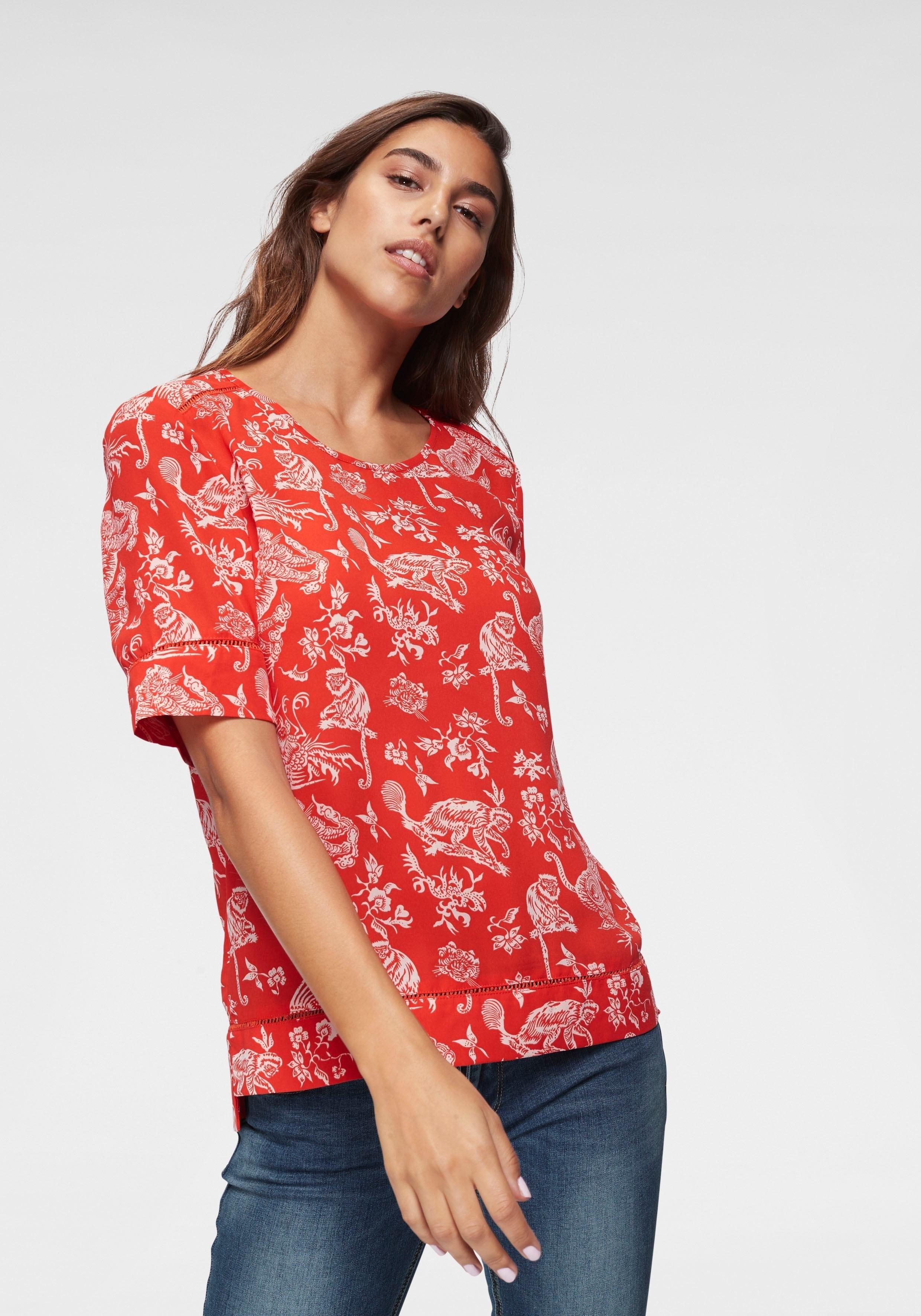 Scotch & Soda gedessineerde blouse nu online bestellen