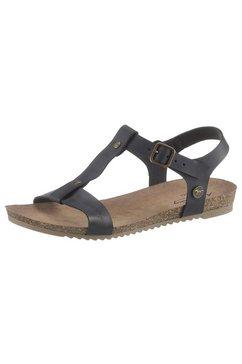 mustang shoes sandalen zwart