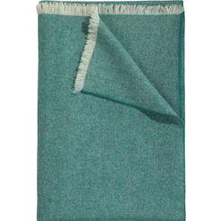 wollen deken »leino«, curt bauer groen