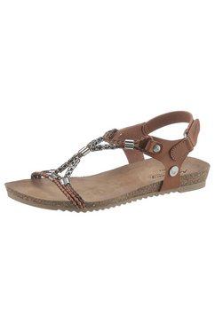 mustang shoes sandalen bruin