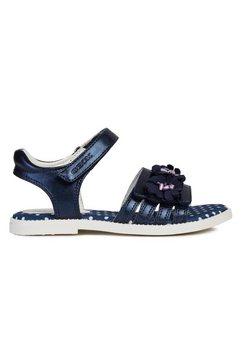 geox kids sandalen »jr sandal karly« blauw