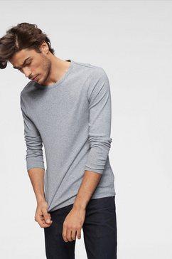 g-star raw shirt met lange mouwen basic artikel in ondoorzichtige, eersteklas katoenkwaliteit grijs