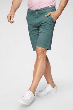 pepe jeans chino-short »short uni« groen