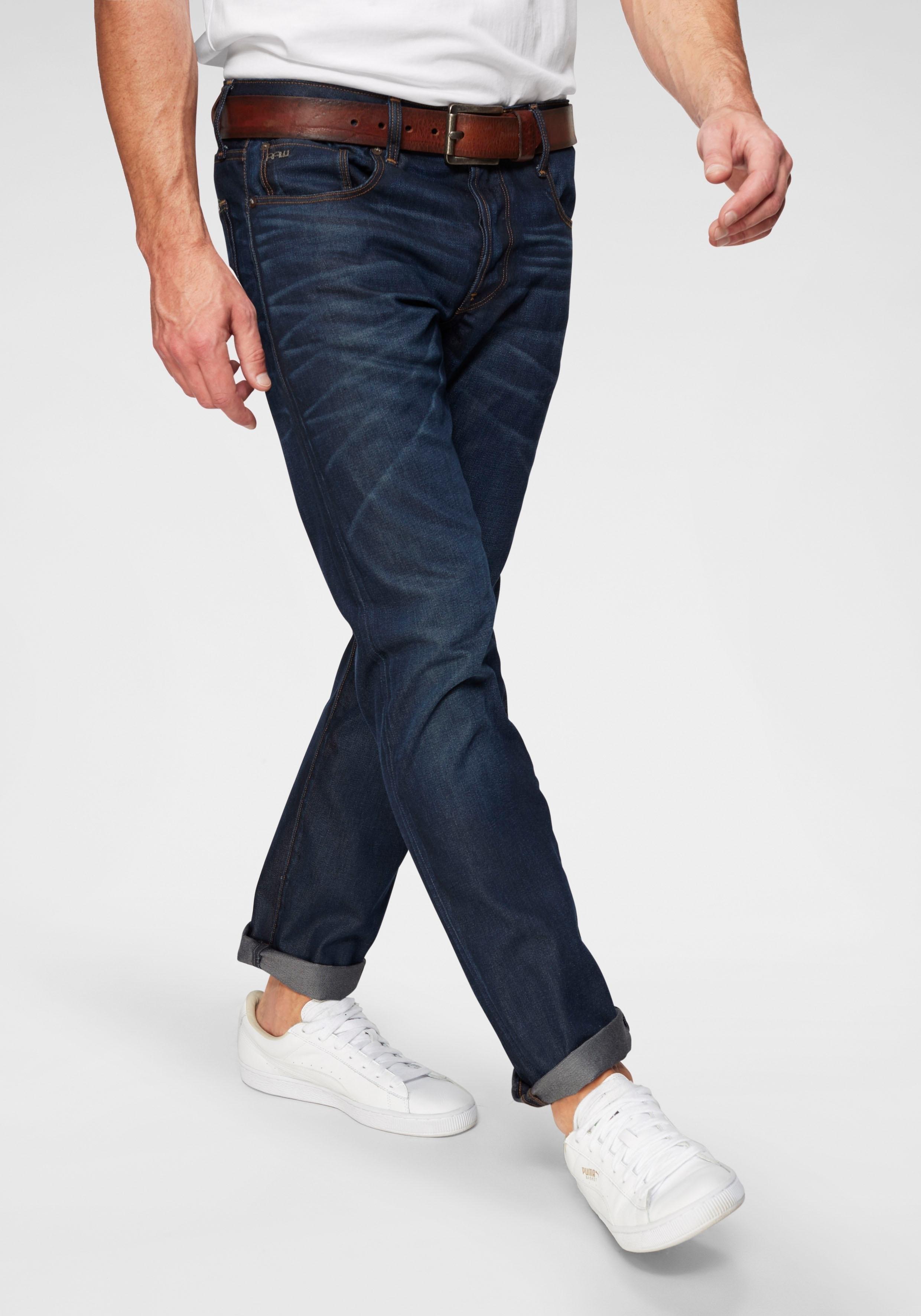 G-Star Raw G-STAR straight-jeans »3301 Straight« bestellen: 30 dagen bedenktijd
