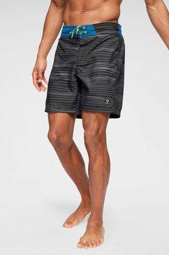 brunotti boardshort »frye mens shorts« zwart